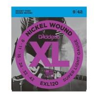 Dây đàn Guitar điện D'Addario EXL120