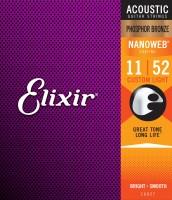 Dây Đàn Guitar Acoustic Elixir 16027