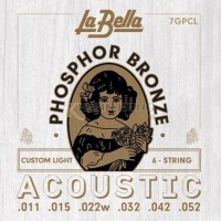 Dây đàn Acoustic La Bella Phosphor Bronze 7GPCL